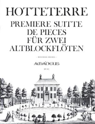 Première Suitte de pièces op. 4 - 2 fl. à bec alto laflutedepan