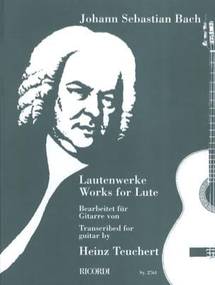 Lautenwerke Bearbeitet für Gitarre von Heinz Teuchert laflutedepan
