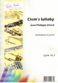 Clem's Lullaby Jean-Philippe Ichard Partition laflutedepan