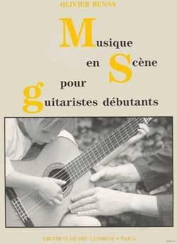 Musique en scène Olivier Bensa Partition Guitare - laflutedepan