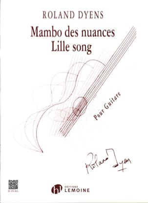 Roland Dyens - Mambo of Nuances - Lille Song - Partition - di-arezzo.com