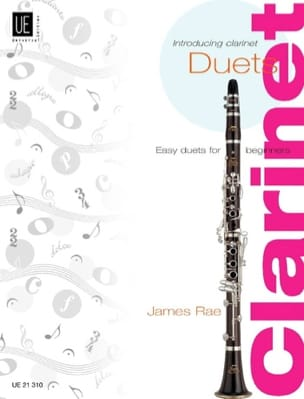 Introducing Clarinet Duets James Rae Partition laflutedepan