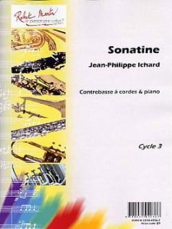 Sonatine Jean-Philippe Ichard Partition Contrebasse - laflutedepan