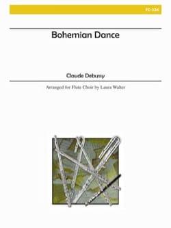 Bohemian Dance DEBUSSY Partition Flûte traversière - laflutedepan