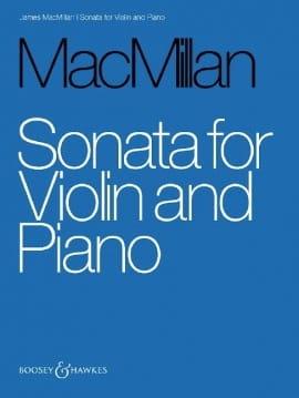 Sonate James MacMillan Partition Violon - laflutedepan