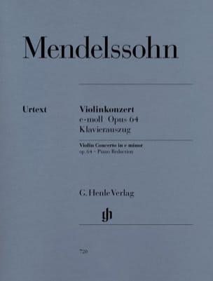 Violinkonzert e-moll op. 64 MENDELSSOHN Partition laflutedepan