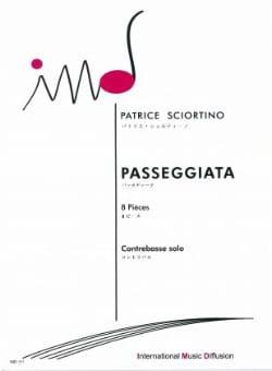 Passeggiata 8 Pièces Patrice Sciortino Partition laflutedepan