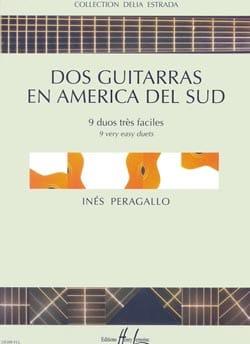 Dos guitarras en America del Sud Inès Peragallo Partition laflutedepan