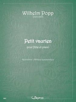 Petit Vaurien Wilhelm Popp Partition Flûte traversière - laflutedepan