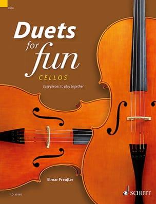 Duets for Fun - 2 Violoncelles Partition Violoncelle - laflutedepan
