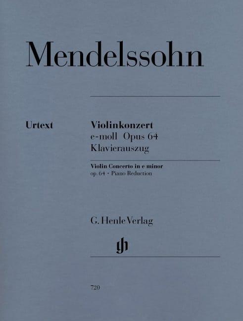 Violinkonzert e-moll op. 64 - MENDELSSOHN - laflutedepan.com
