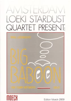 Big Baboon - Paul Leenhouts - Partition - laflutedepan.com