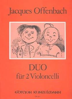 Duo Für 2 Violoncelli Op 54 N° 2 OFFENBACH Partition laflutedepan