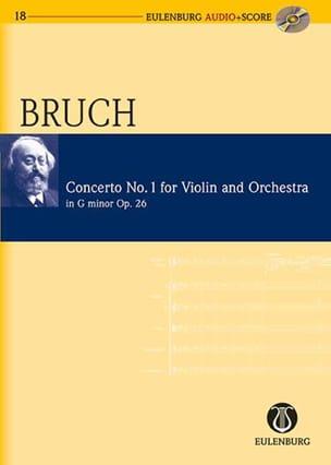 Concerto Pour Violon Opus 26 N°1 BRUCH Partition laflutedepan