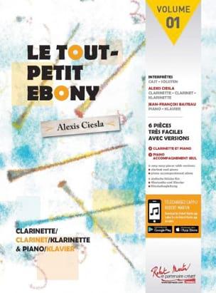 Le Tout Petit Ebony Partition Clarinette - laflutedepan