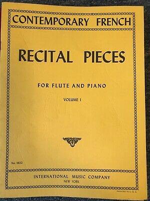 Recital pieces - Volume 1 - Flute piano - laflutedepan.com