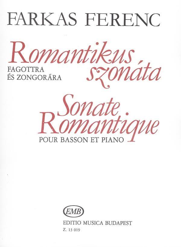 Sonate romantique - Ferenc Farkas - Partition - laflutedepan.com