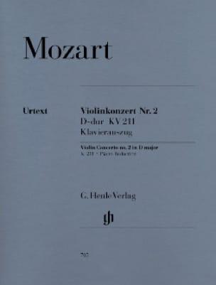 Concerto pour Violon N° 2 en Ré Majeur - KV 211 - laflutedepan.com