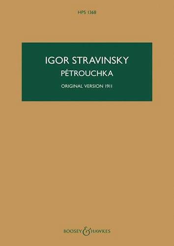Pétrouchka - Version 1911 - STRAVINSKY - Partition - laflutedepan.com