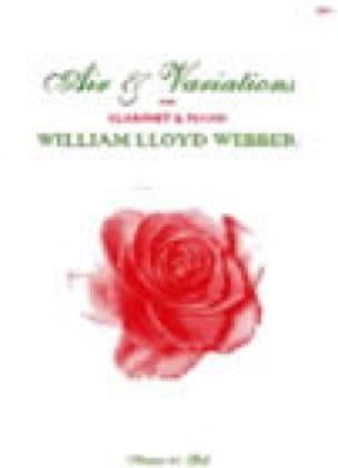 Air And Variations - William Lloyd Webber - laflutedepan.com