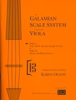 Galamian Scale System - Viola Ivan Galamian Partition laflutedepan