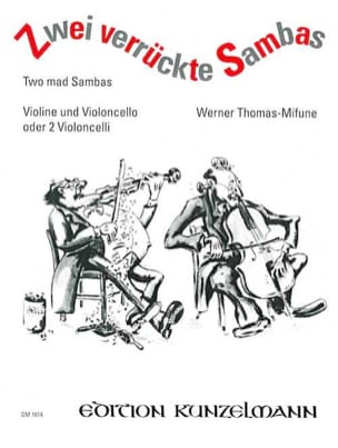 2 Verrückte Sambas Werner Thomas-Mifune Partition 0 - laflutedepan