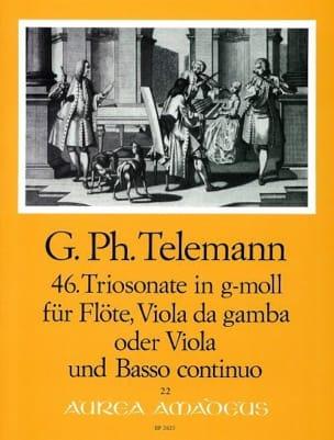 Triosonate Nr. 46 g-moll -Flöte, Viola da gamba o. Viola u. Bc laflutedepan