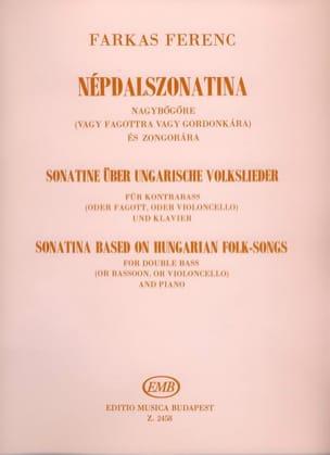 Sonatine based on hungarian folk-songs Ferenc Farkas laflutedepan