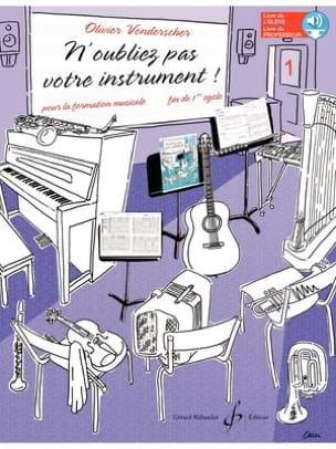 N'oubliez pas votre instrument ! - Vol. 1 laflutedepan