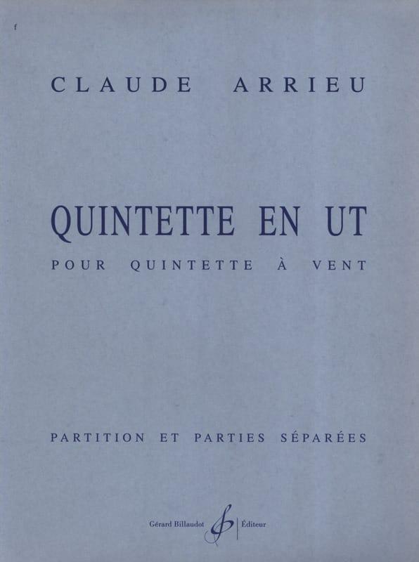 Quintette En Ut - Partition & Parties - laflutedepan.com