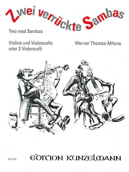 2 Verrückte Sambas - Werner Thomas-Mifune - laflutedepan.com