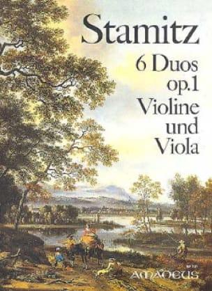 6 Duos op. 1 - Violine und Viola - STAMITZ - laflutedepan.com