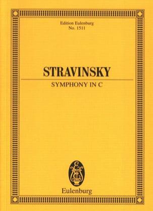 Symphony In C STRAVINSKY Partition Petit format - laflutedepan
