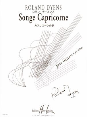 Roland Dyens - Capricorn dream - Partition - di-arezzo.com