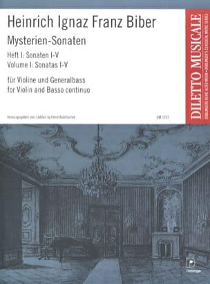 Mysterien-Sonaten, Heft 1, für Violine und Generalbass laflutedepan