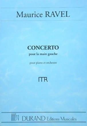 Concerto pour la main gauche - RAVEL - Partition - laflutedepan.com