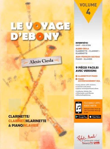 Le Voyage d'Ebony - Partition - Clarinette - laflutedepan.com