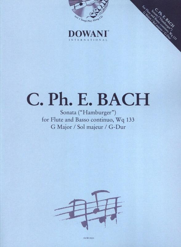 Hamburger Sonate - Flûte et piano - laflutedepan.com