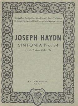 Symphonie Nr. 34 d-moll Hob. 1 : 34 -Partitur HAYDN laflutedepan