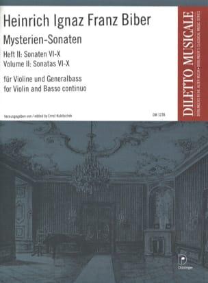 Mysterien-Sonaten, Heft 2, für Violine und Generalbass laflutedepan