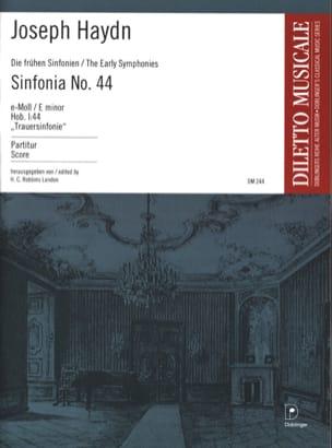 Sinfonia Nr. 44 e-Moll Trauer - Partitur HAYDN Partition laflutedepan