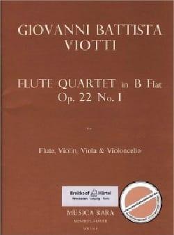 Flute Quartet in B flat op. 22 n° 1 - Flute violin viola cello laflutedepan