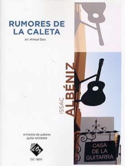 Rumores de la Caleta ALBENIZ Partition Guitare - laflutedepan