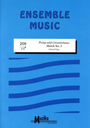 Pomp And Circumstance - ELGAR - Partition - laflutedepan.com