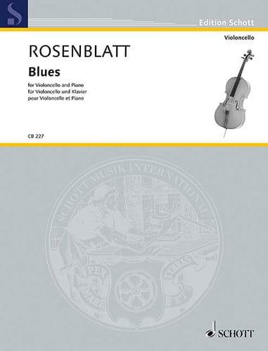Blues - Alexander Rosenblatt - Partition - laflutedepan.com