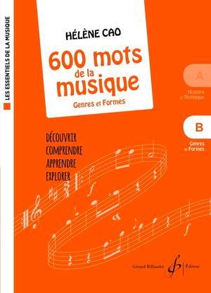 600 mots de la musique - B - Hélène Cao - Partition - laflutedepan.com