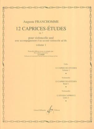 12 Caprices-Etudes Opus 7 Volume 1 études 1 à 6 laflutedepan