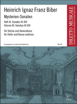 Mysterien-Sonaten, Heft 3, für Violine und Generalbass laflutedepan