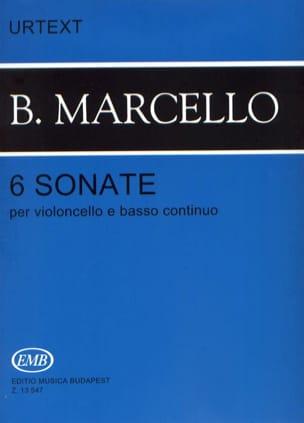 6 Sonates pour violoncelle et basse continue laflutedepan
