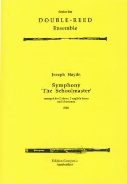 Symphony The Schoolmaster -2 Oboes 2 english horns 2 bassoons laflutedepan